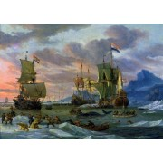 Artifact Puzzles Arctic Wooden Jigsaw Puzzle