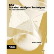 SAS(R) Survival Analysis Techniques for Medical Research, Second Edition by Alan B. Cantor