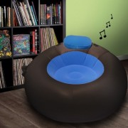 Inflatable iMusic Chair II with Amplifier