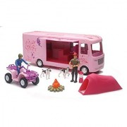 Newray Pink RV Camping Adventure Playset