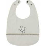 Kidscase Home Mouse Slabbetje White