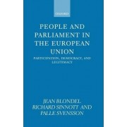 People and Parliament in the European Union by Jean Blondel