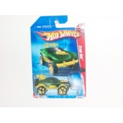 2010 Hot Wheels Race World: Battle- Green Sting Rod w/ Faster Than Ever Rims (4/4) #200/240 on Battl