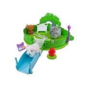 Zuh Zuh Puppies - Zhu Zhu Pets Hamster Dog Park - Parque cachorros Corteza, juguetes no incluidos (importación)