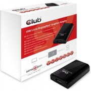 Club3d Grafische kaart - Club3D ext. Grafik/Adapter USB 3.0 DP1.1 SenseVision retail
