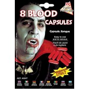 Sangue liquido finto per vampiri - 8 capsule
