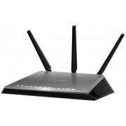 Router Wireless Netgear D7000, Gigabit, Dual Band, 600 + 1300 Mbps, 3 Antene externe, 2 x USB 3.0