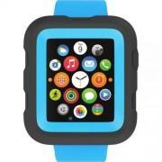 Griffin Survivor Watch Case - хибриден кейс с най-висока степен на защита за Apple Watch 42 mm (син)