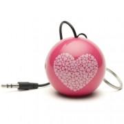 KitSound Mini Buddy Heart Speaker - boxa portabila cu jack 3.5mm
