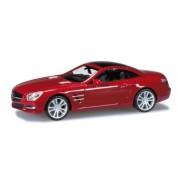 Herpa - 034 838 - Mercedes-Benz - SL-klasse con hardtop Convertible - Le Mans - rosso metallizzato