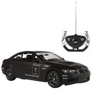 Rastar - BMW M3, coche teledirigido, escala 1:14, color negro (ColorBaby 85017)