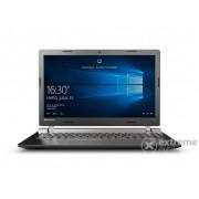 Laptop Lenovo Ideapad 80QQ00FDHV Windows10, negru