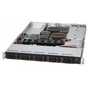 Supermicro CSE-116TQ-R700CB Portabagagli 700W Nero vane portacomputer