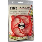 Ventilator Inter-Tech CobaNitrox Extended R-120-R 120mm Red LED