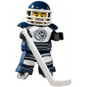 LEGO 8804 Minifigures Serie 4 - Minifigura de jugador de hockey sobre hielo