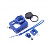 Carcasa de protectie din aluminiu GoPro Hero 3+ (Albastru)