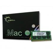 GSKILL-Mac Memory SODIMM 4 Go (kit 2x 2 Go) DDR3-SDRAM PC3-8500 - FA-8500CL7D-4GBSQ (garantie 10 ans par G.Skill) (FA-8500CL7D-4GBSQ)-