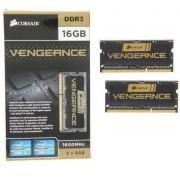 Memorie laptop Corsair 16GB DDR3 1600MHz CL9 Kit