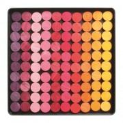 Grimms Wooden Mini Magnetic Creative Puzzle Play In Travel Box, Red Dots