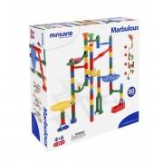 Roller coaster de construit cu 80 piese - Miniland
