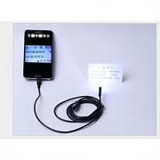 android endoscópio usb 7 milímetros endoscópio android 6 IP66 levou câmara usb 2m endoscópio câmera de CCTV otg android à prova d'água