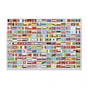 Educa A világ zászlajai puzzle, 1500 darabos