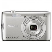 Nikon Aparat NIKON COOLPIX A300 Srebrny