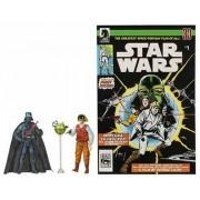 Star Wars Comic Pack Darth Vader & Rebel Officer 2006 - Expanded Universe Hasbro