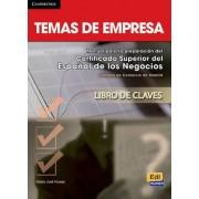 Temas de Empresa Answer Key by Mar