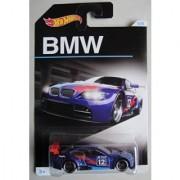 HOT WHEELS EXCLUSIVE BMW SERIES BLUE BMW M3 GT2 5/8