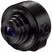 Camera foto stil obiectiv pentru smartphone Sony QX10 Negru, 18 MP, Zoom Optic 10x