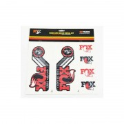 Fox Racing Shox Fork and Shock Decal Kit - DVD & Calendriers - rouge DVD & Stickers