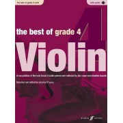 The Best of Grade 4 Violin (Violin with Paino Accompaniment) by Jessica O'Leary