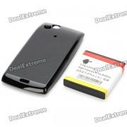 Remplacement 3.7V 3600mAh batterie étendue w / couvercle de la batterie pour Sony Ericsson BA750