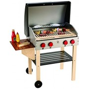 Hape-Wooden Gourmet Grill (With Food)