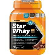 NamedSport Star Whey Perfekt Isolate Protein-Nahrungsmittelergänzung 750 g