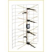 Antenna, lepke szimmetrizálóval