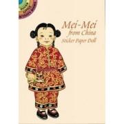 Mei-Mei from China Sticker Paper Doll by Yuko Green