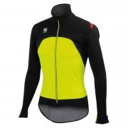 Sportful Fiandre Light Windstopper Jacket - Yellow Fluo/Black - L