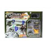 ZERBO TRACK SET Military Racing Tracks Playset Track