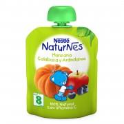 Nestle NaturNes piure dovleac, mar si afine 90g