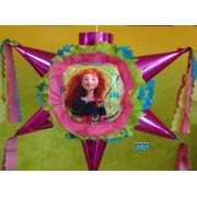 """Pinata Disney Brave / Valiente Piata [Latin America Special Edition] Hand Crafted 26""""X26""""X12""""[Holds 2 3 Lb. Of Candy][For Any Occasion]"""