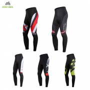 ZERO BIKE Cycling Pants Men 3D Gel Padded Bicycle Pants Tights Quick Dry Breathable pantaloni mtb Bike Trousers