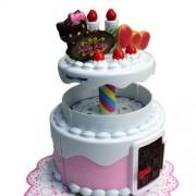 Janod Hello Kitty BJ290482 - Casa de muñecas con forma de pastel de cumpleaños, diseño de Hello Kitty