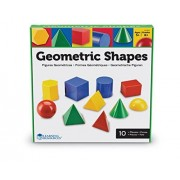 Learning Resources Large Geometric Shapes, for Grades K and Up, Sold as 1 Set