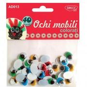 Ochi mobili colorati Daco art AD013