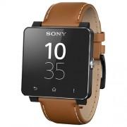 Smartwatch 2 Curea Piele Maro Sony