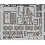 Eduard Photoetch 1:72 - Mi-24V Hind E Interior S.A. (Zvesda)