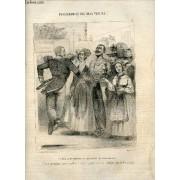Physionomies Des Bals Publics : Le Bal Sentimental Et Militaire Du Gros Caillou, Et Le Bal Montesquieu - Extrait Du Charivari.