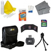 Accessory Kit for Sony Cyber-Shot DSC-W800 Digital Camera - Includes 8 GB Memory Card and Card Reader Protective Digital Camera Carrying Case Mini Tabletop Tripod Memory Card Wallet Lens Cleaning Fluid Cleaning Cloth U